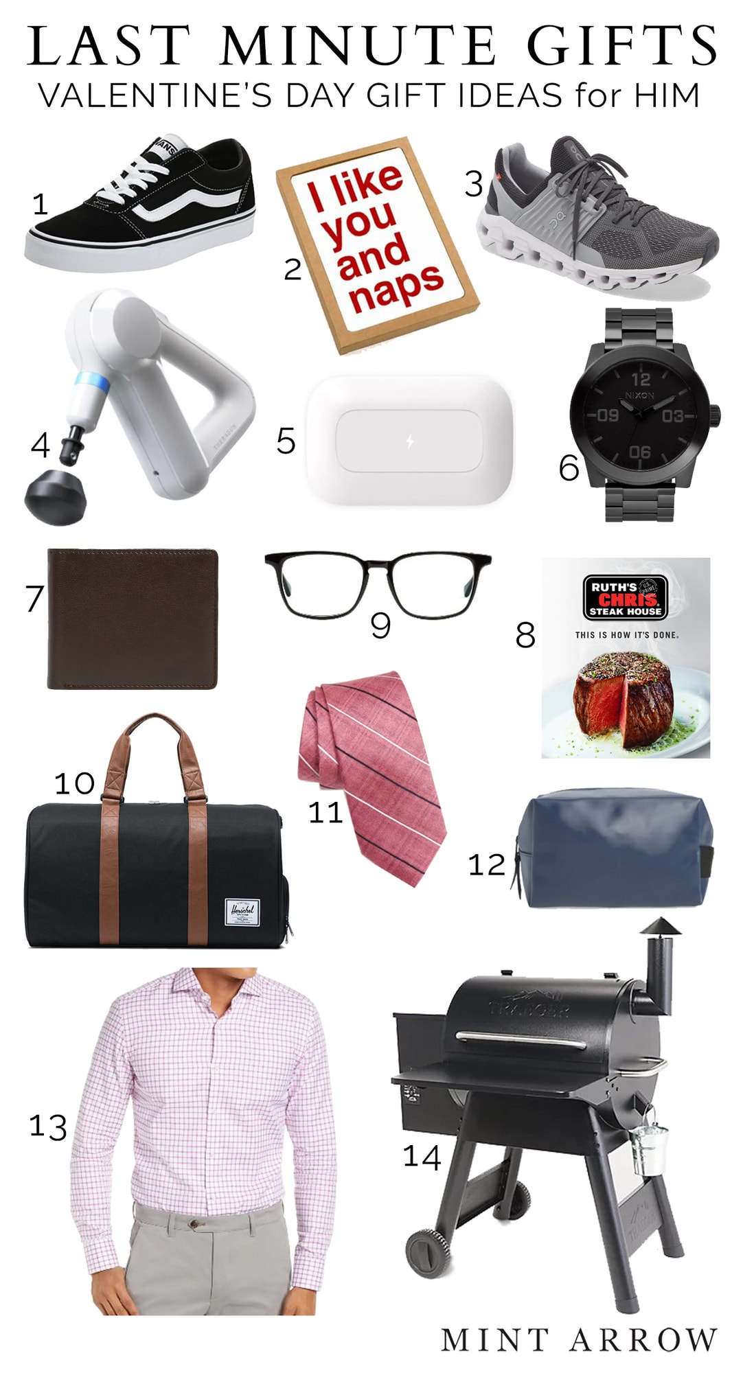 last minute valentine's day gifts for men