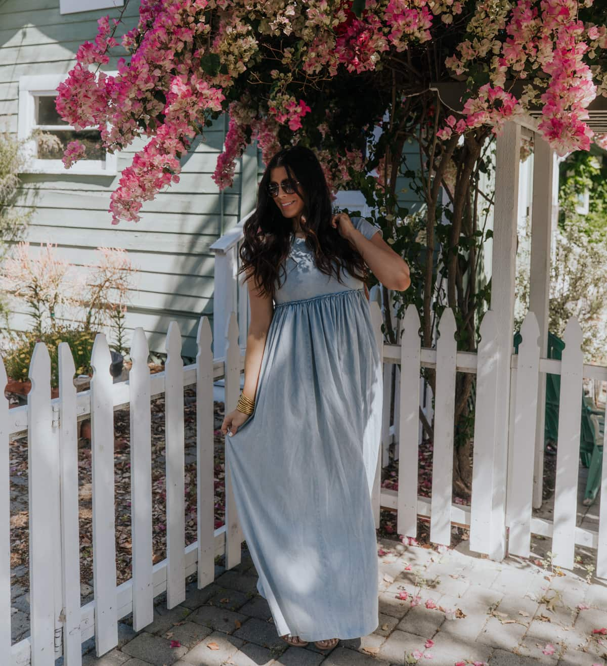 casual summer maxi dress