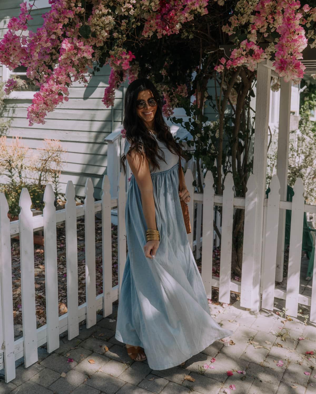 free people flowy maxi dress