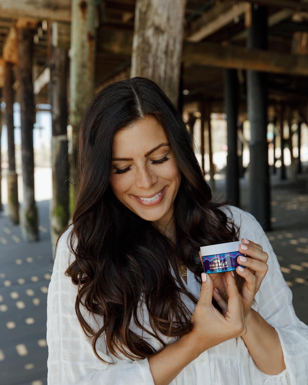drink of H20 Tarte cosmetics moisturizer