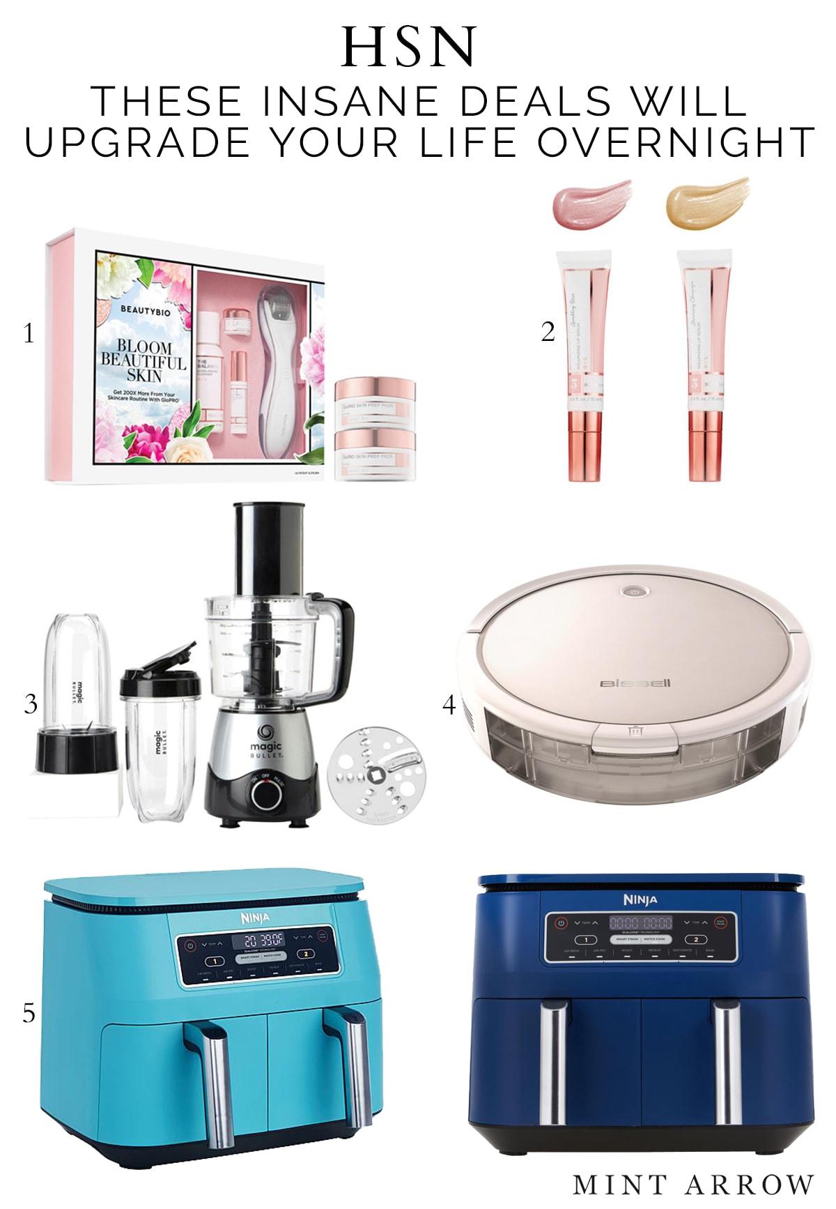 hsn deals, beautybio, microneedling