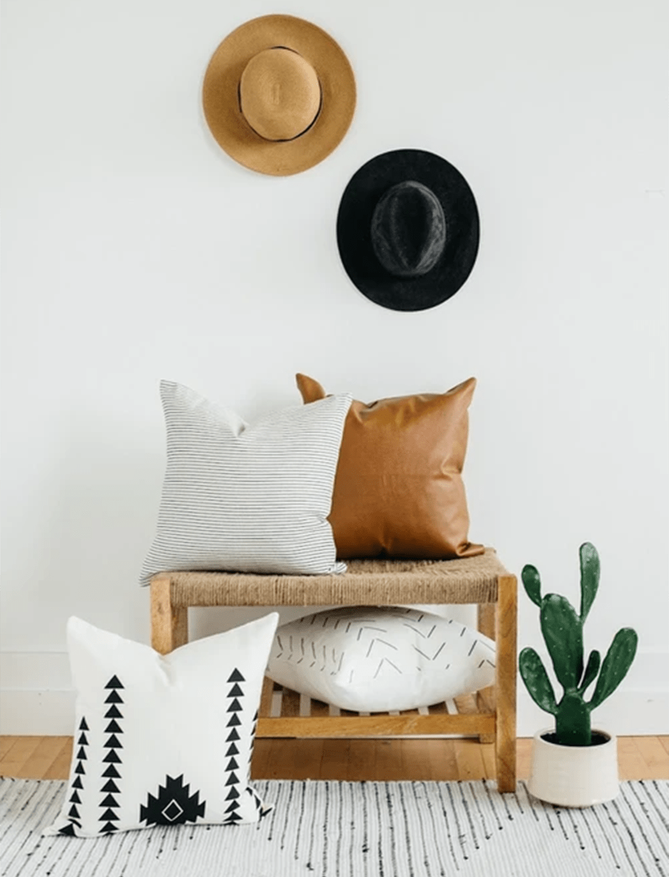 woven nook pillow covers