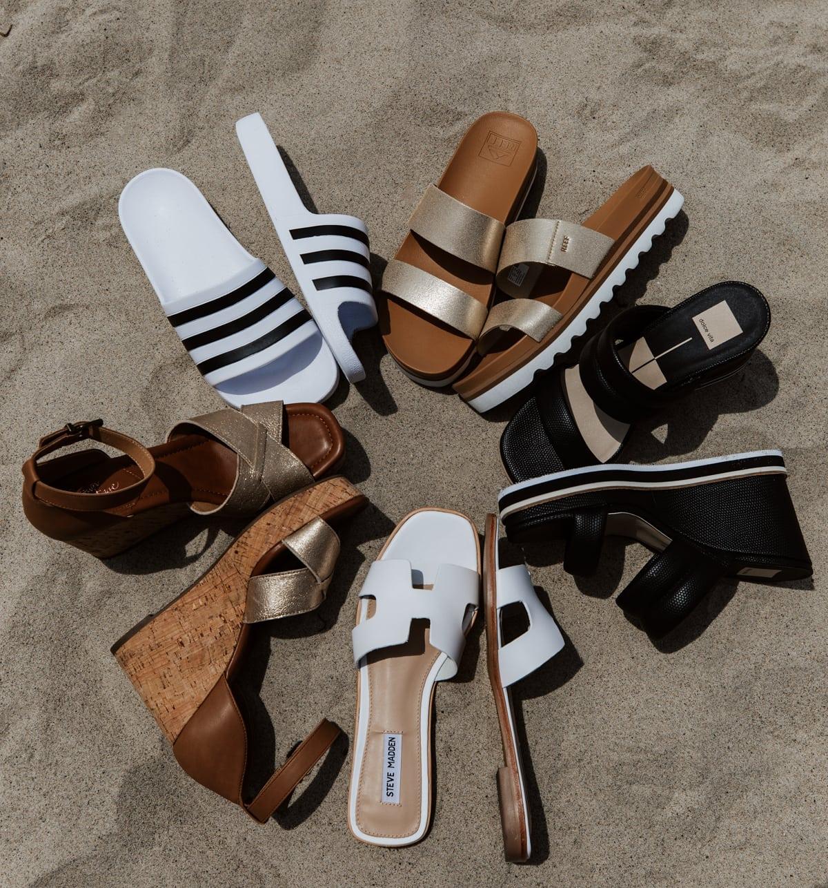 dsw best summer sandals