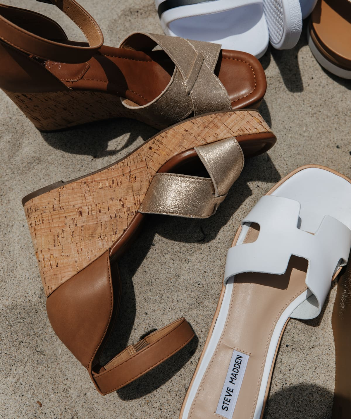 Brown and Gold Wedge