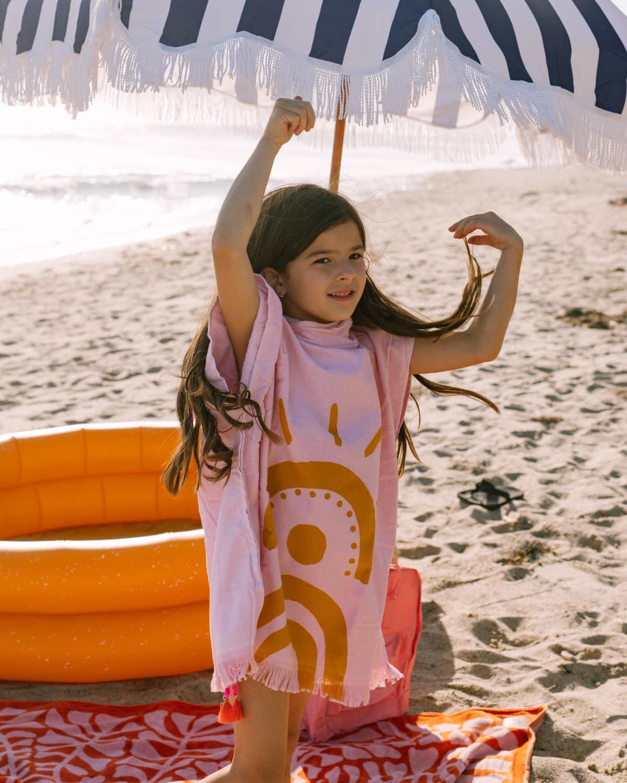 sunnylife poncho towel