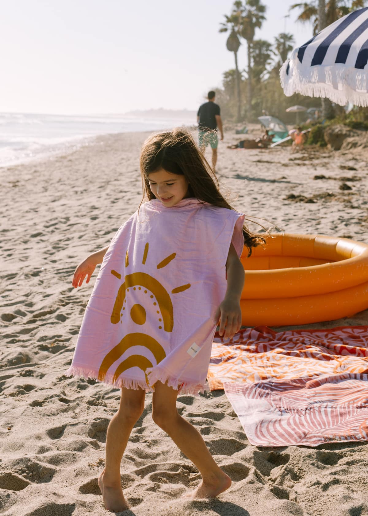 poncho towel for kids