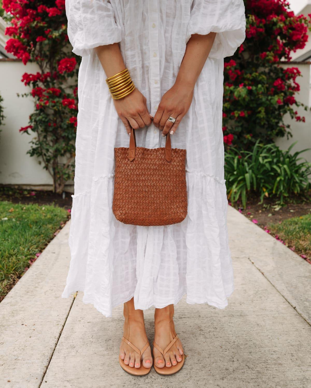 small woven bag