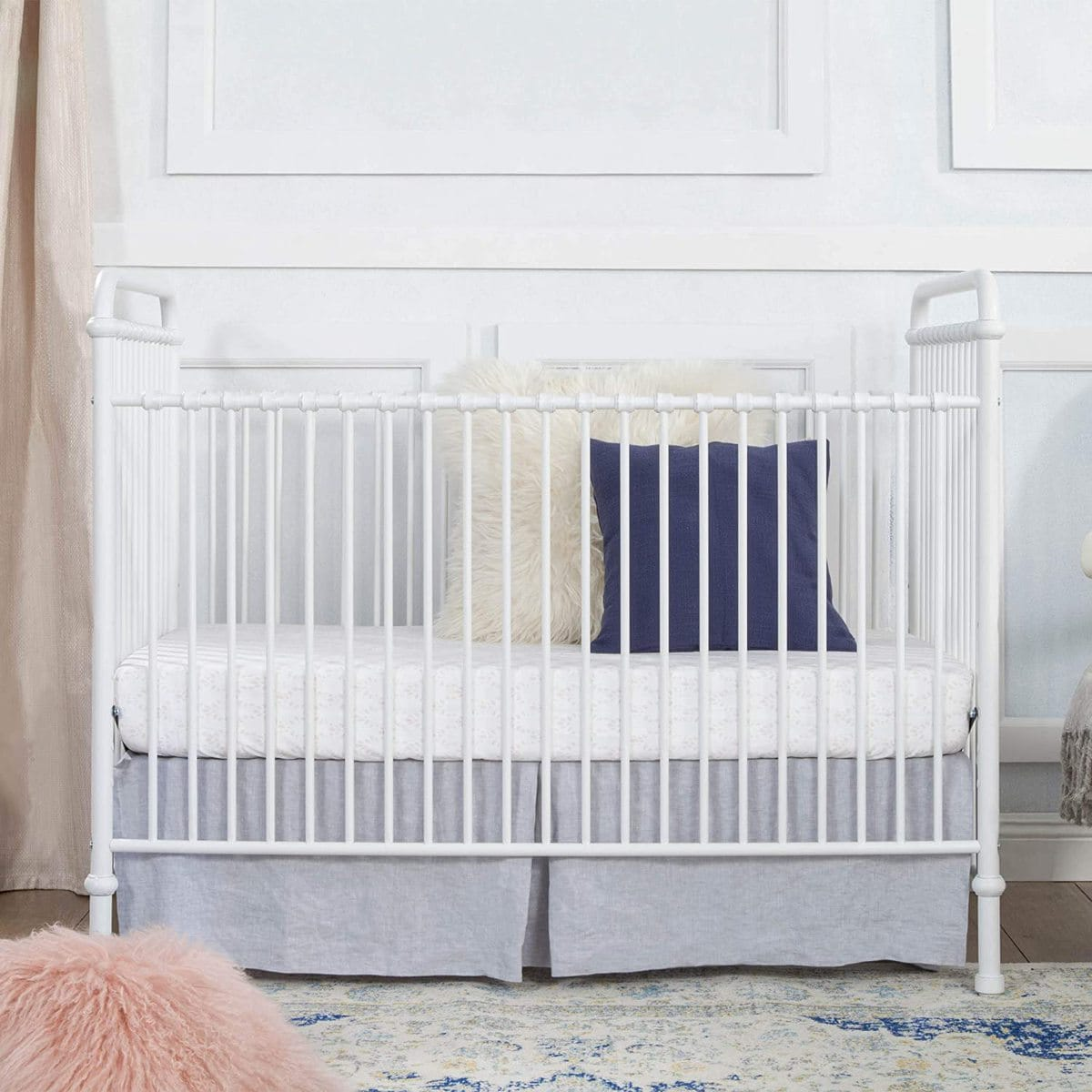 Convertible Iron Crib