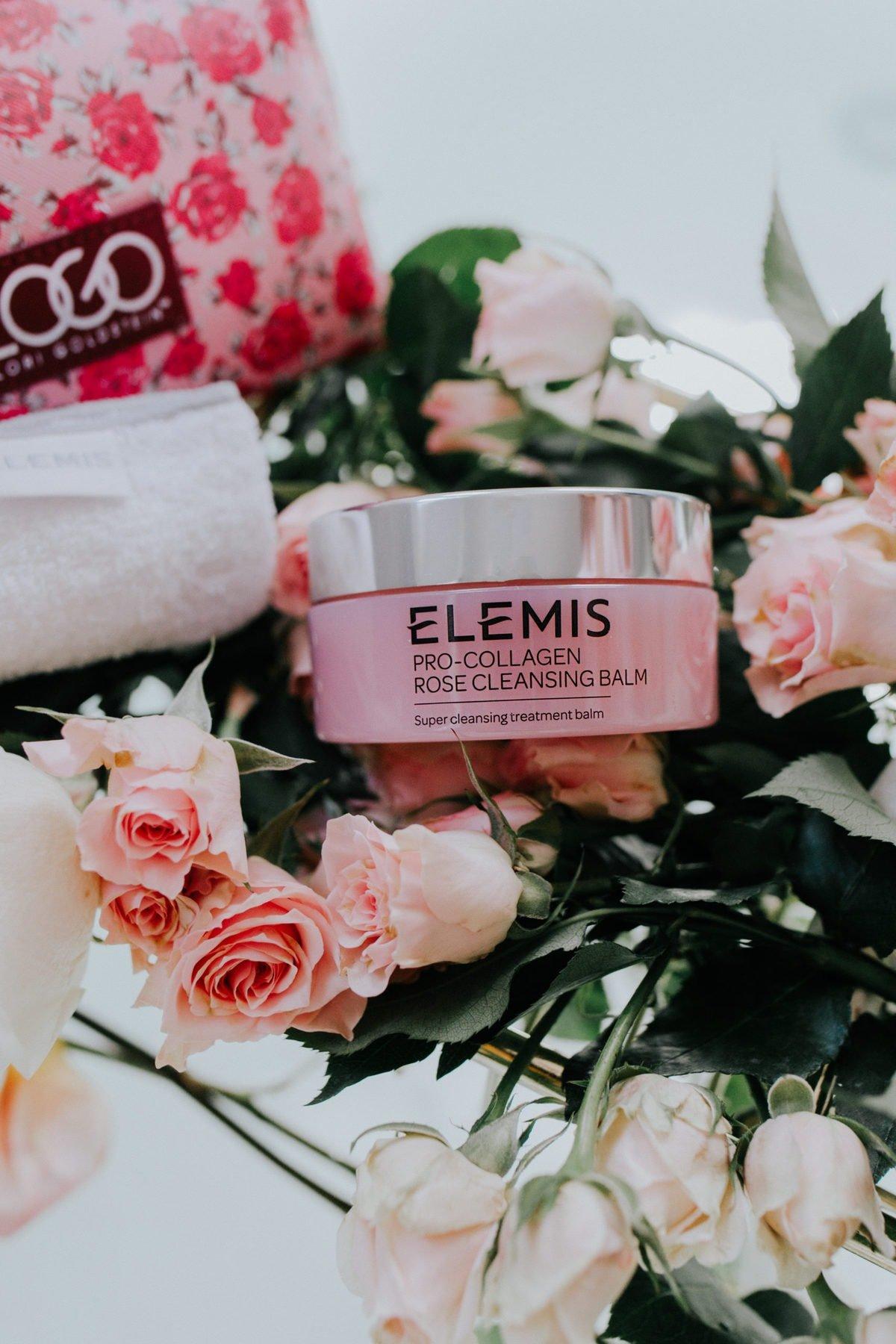 rose cleansing balm