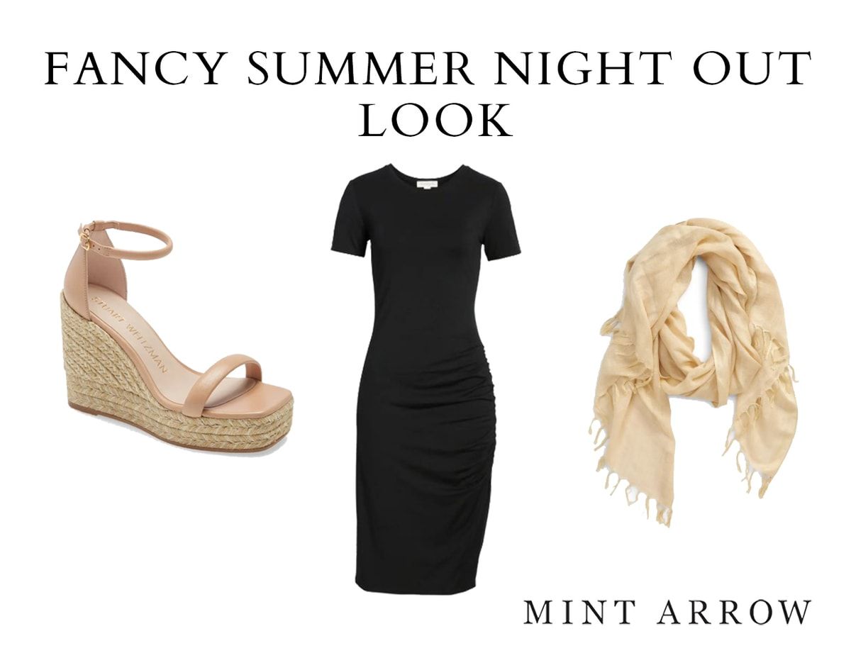 fancy summer date night outfit