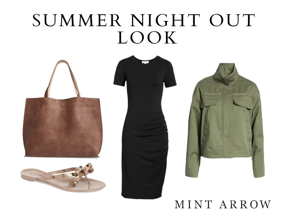 summer night out look