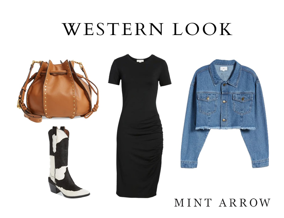 trendy western outfit