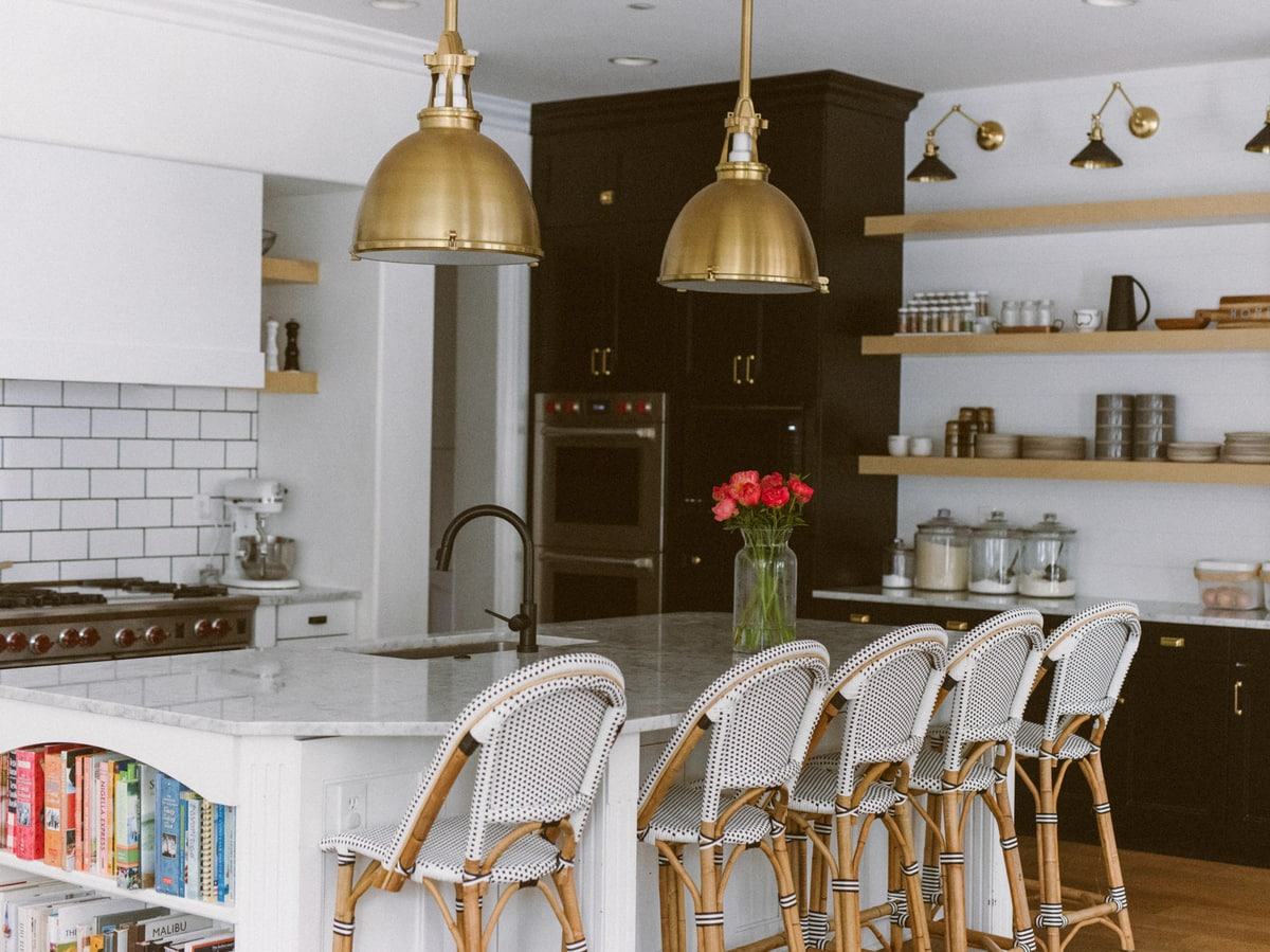 dark cabinets kitchen remodel
