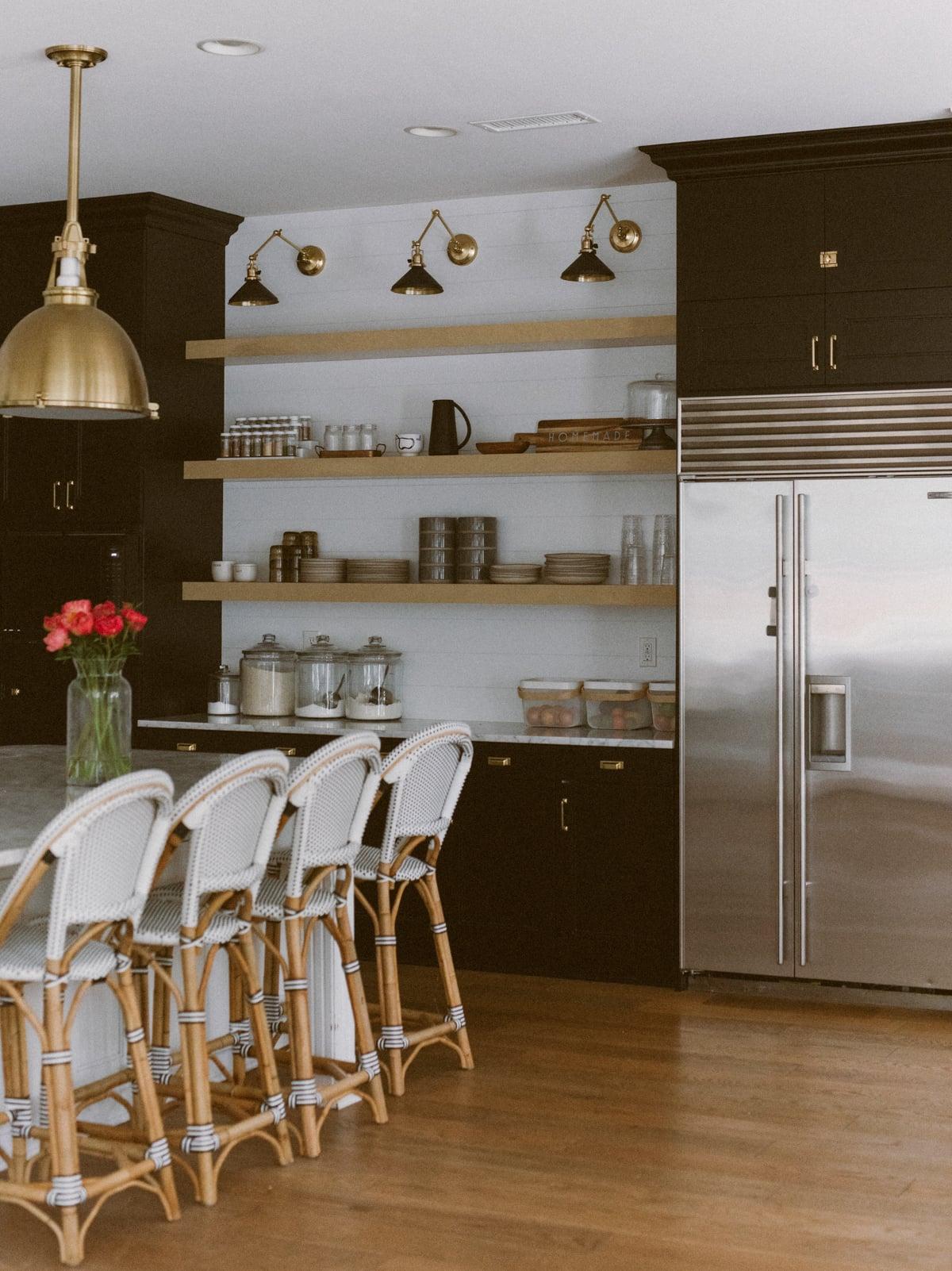 kitchen shiplap