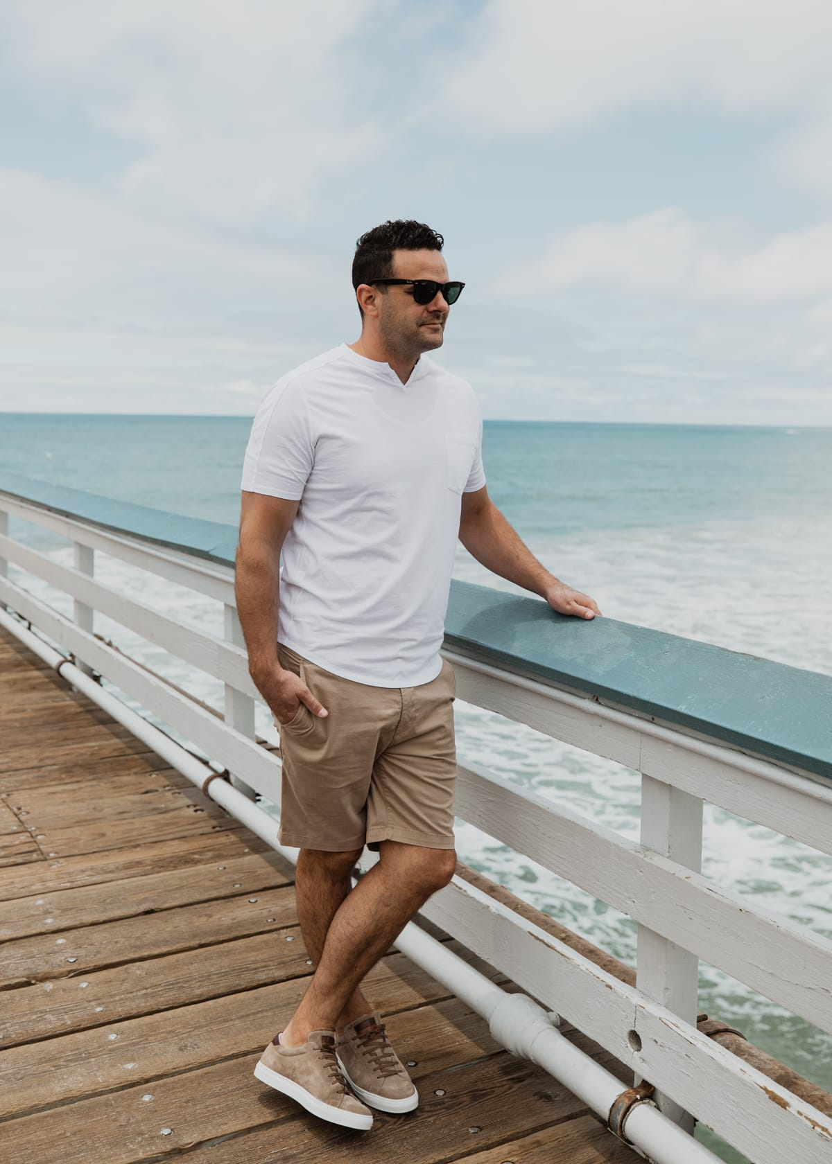 Modern Slim Fit Shorts