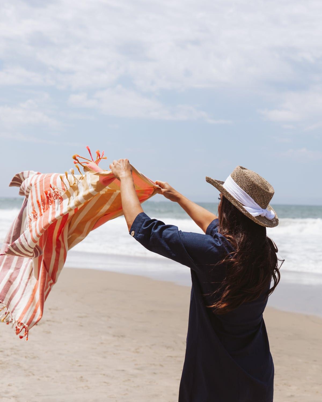 QVC turkish beach towel