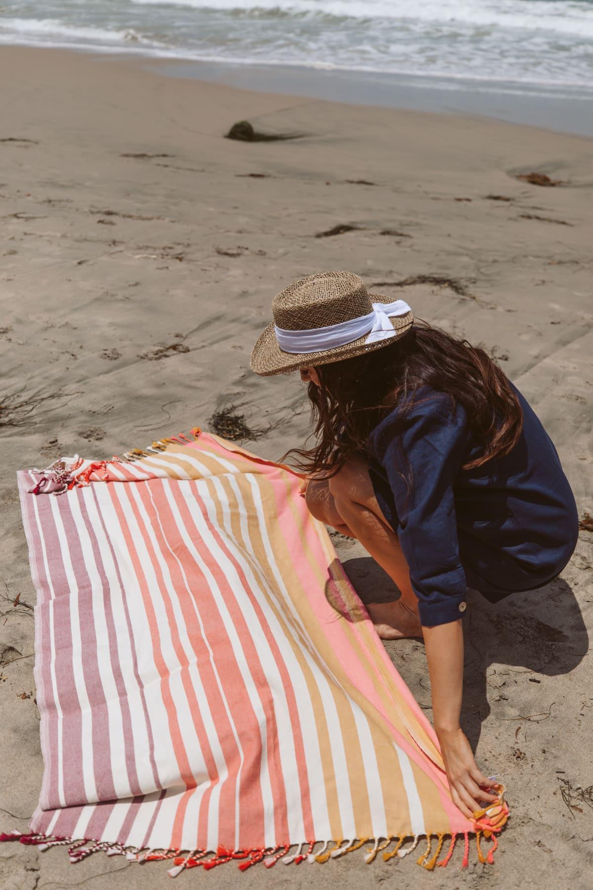 sand cloud beach towel