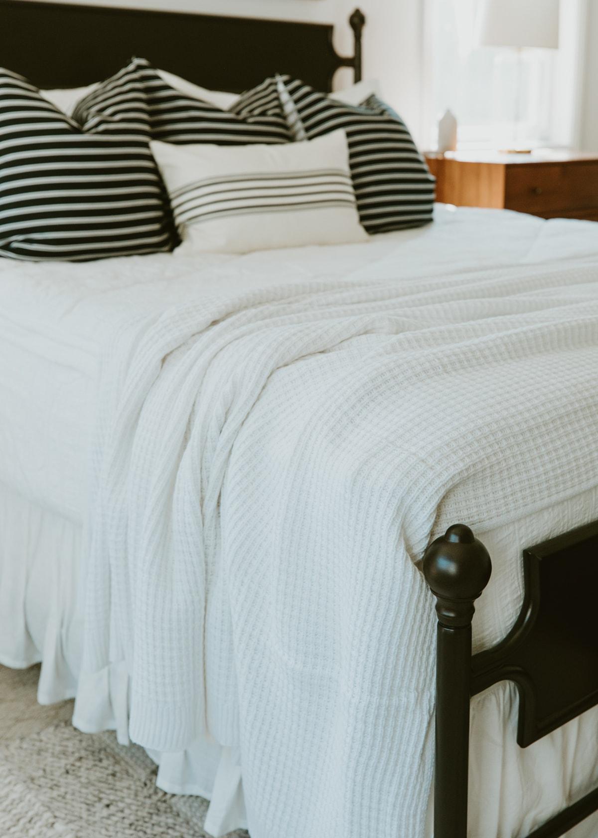 barefoot dreams waffle knit blanket nordstrom home deals