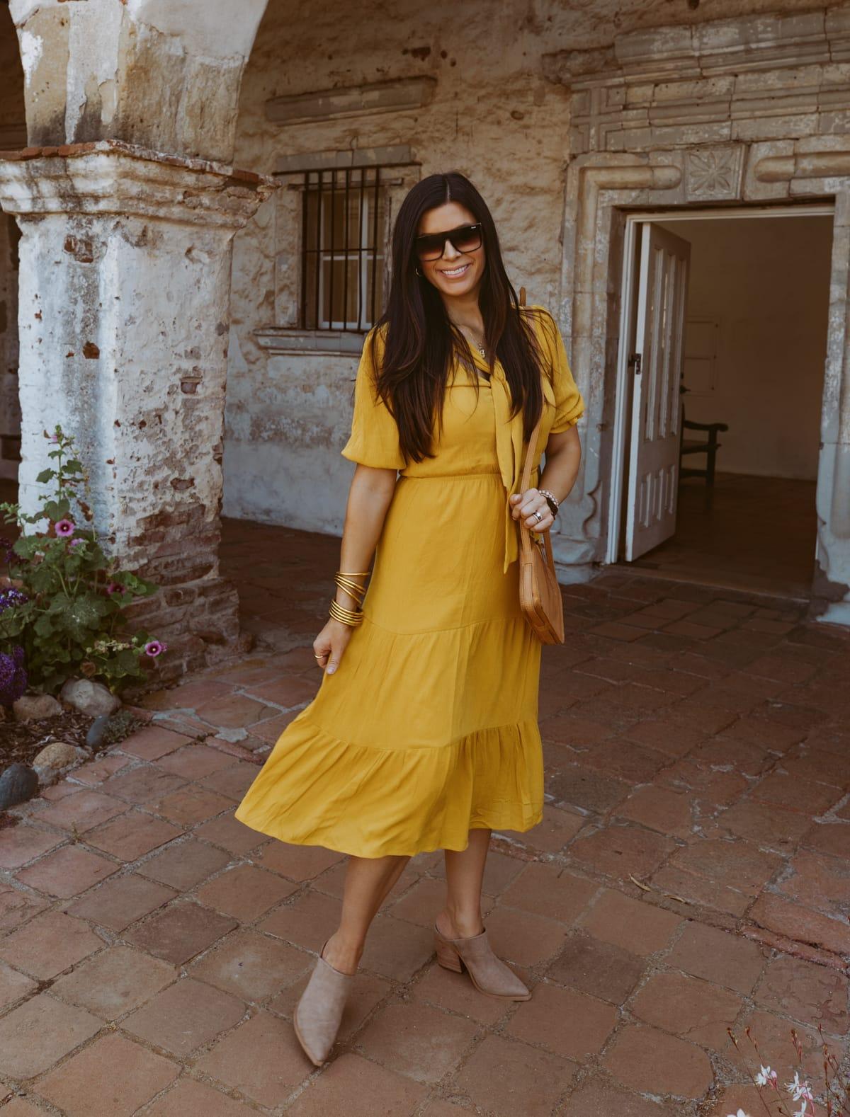 yellow dress nordstrom