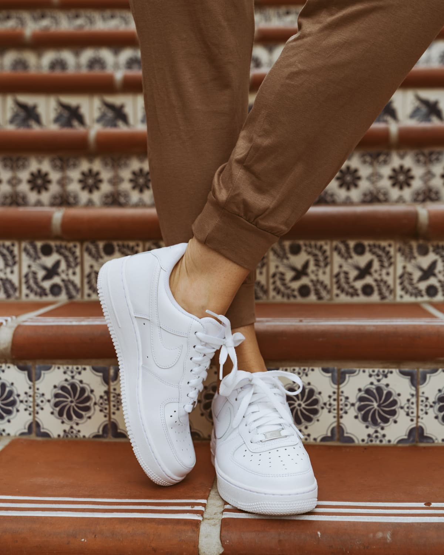 white air force 1's women