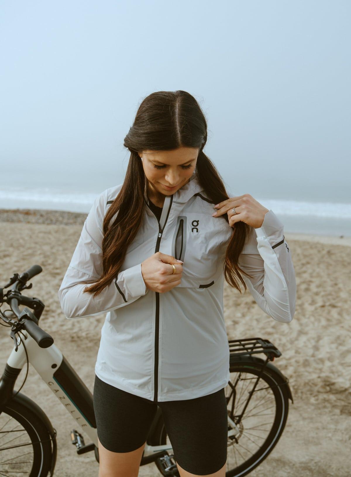 reflective jacket for bike rides