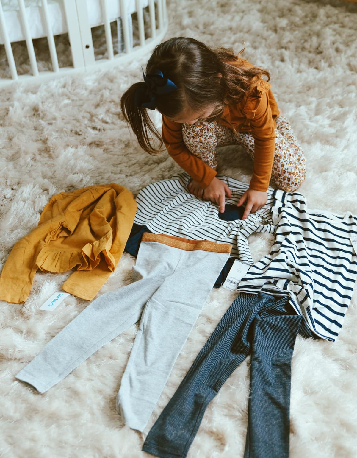 toddler girl fall outfit from carters matching outfits