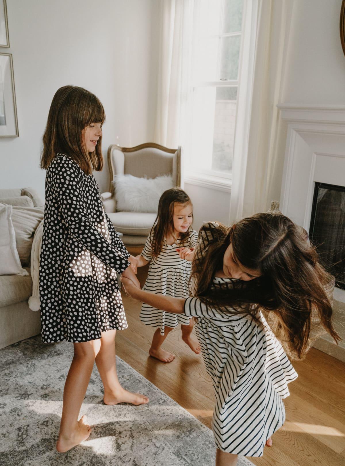 girls play dresses