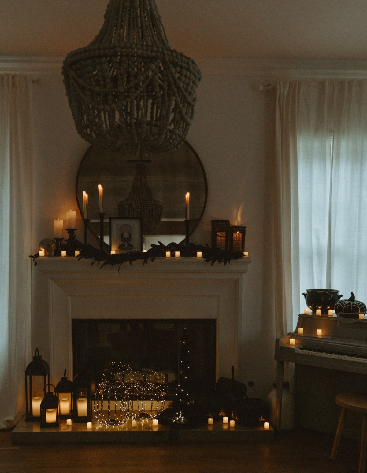 classy halloween decorations