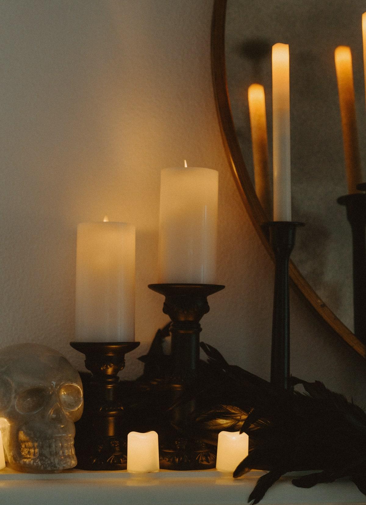 black candlesticks jcpenney